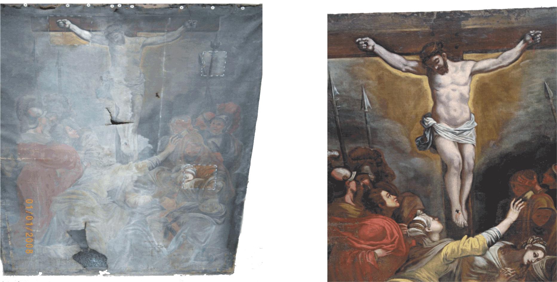 """Restaurato il """"Cristo in croce"""""""