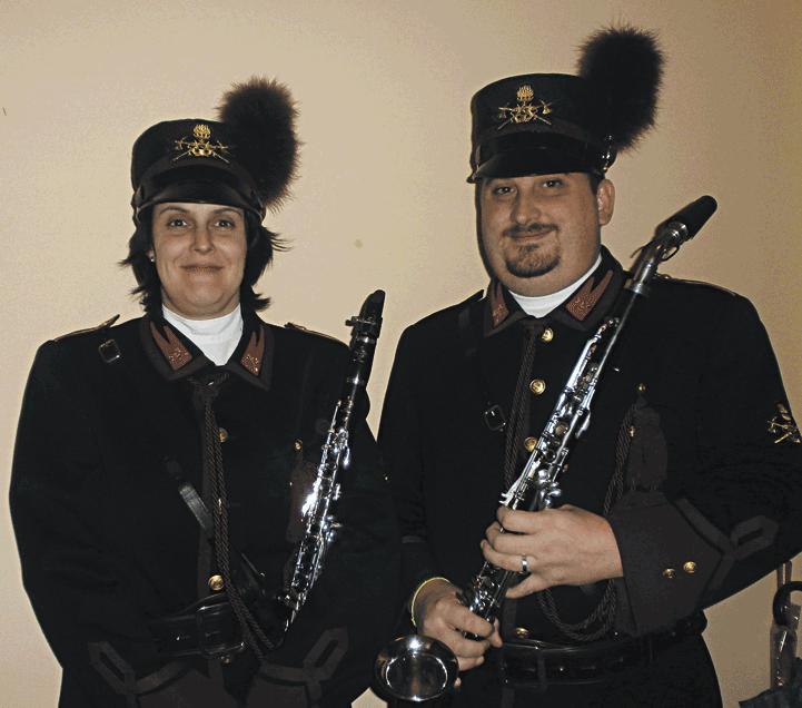 Musici di Villafranca nell'orchestra dei pompieri