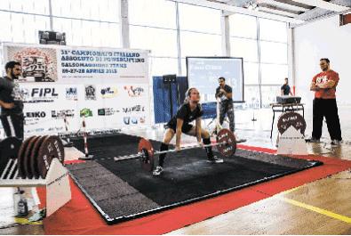 Chiara Fassi, powerlifter di Villafranca. L'intervista