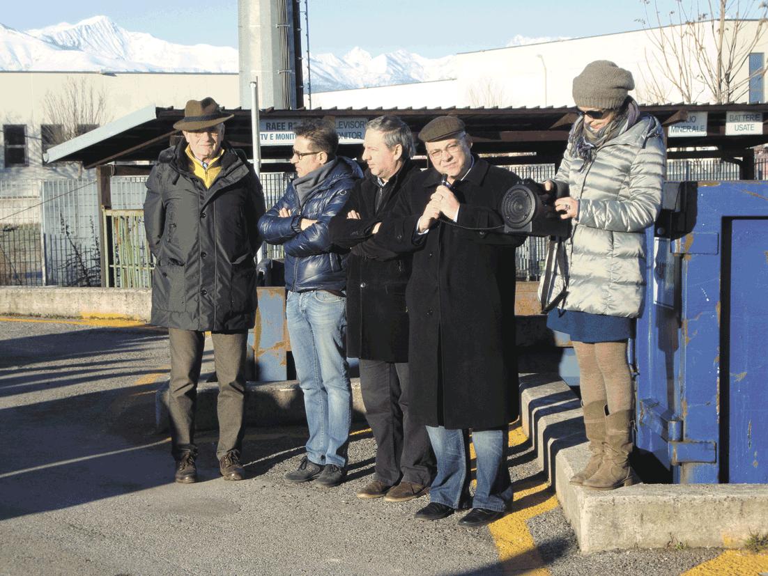 Moretta. Con 107mila euro riqualificata l'isola ecologica