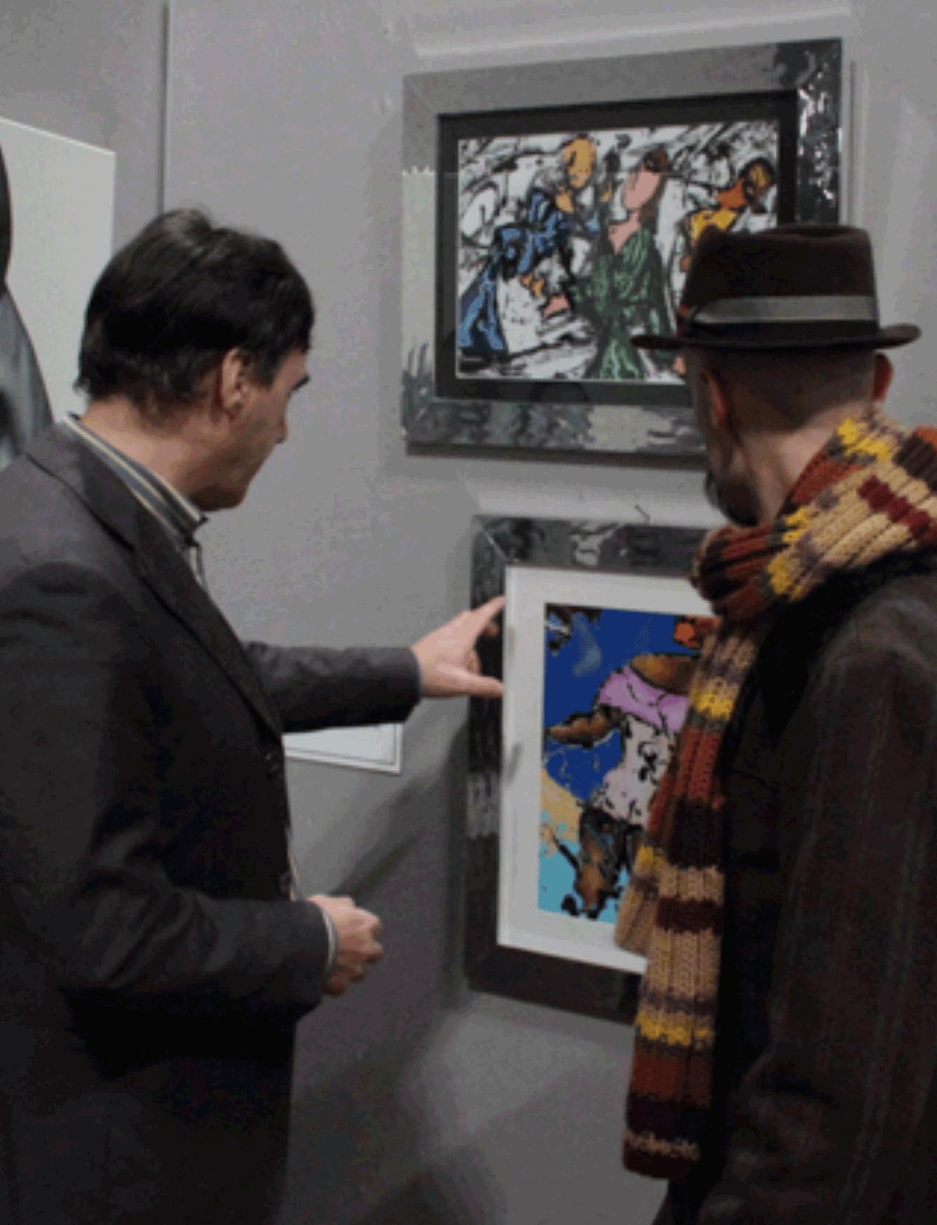 """Pancalieri. """"Milo"""" piace ai critici d'arte"""