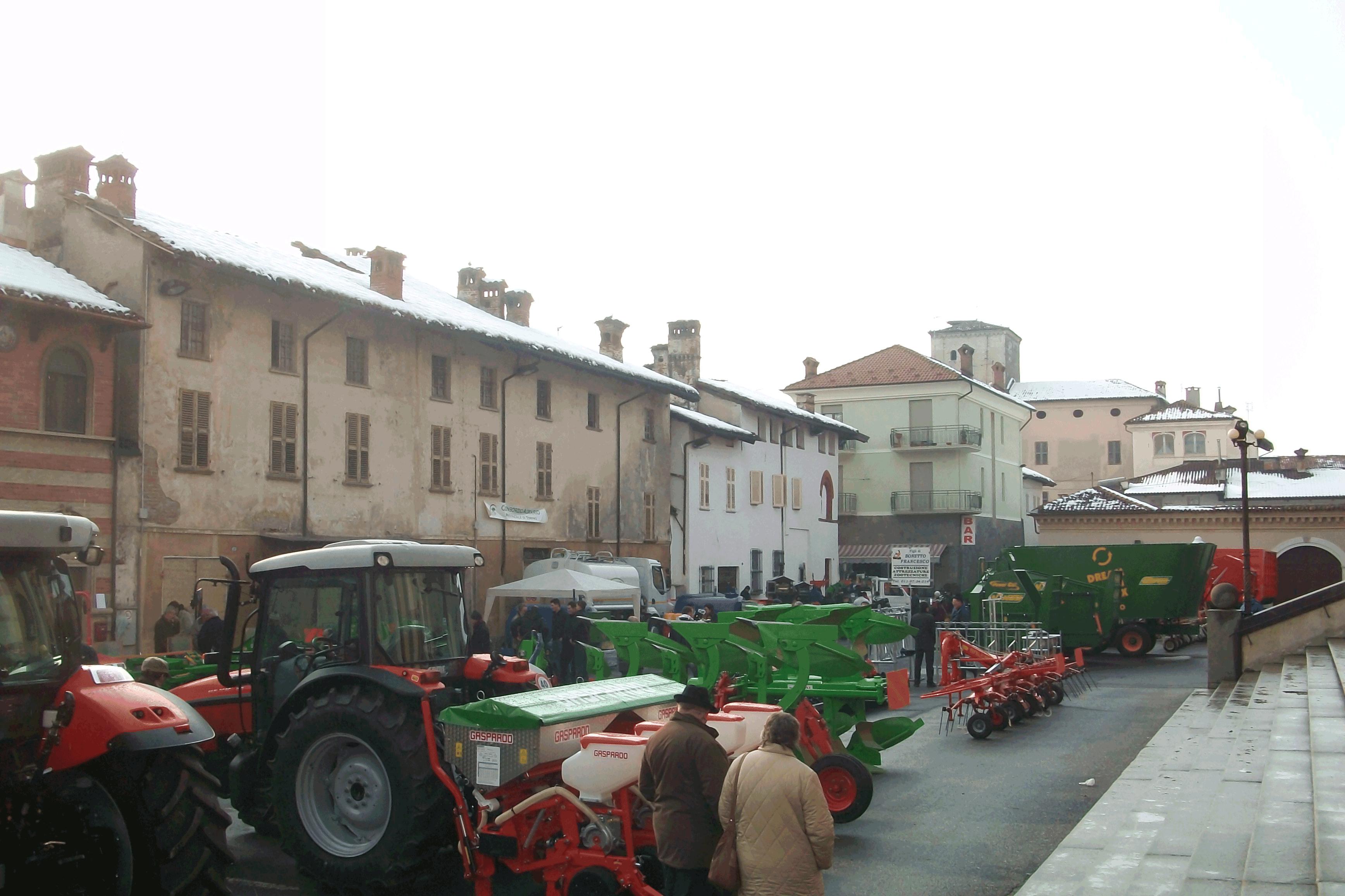 Vigone. Il settore agricolo in fiera