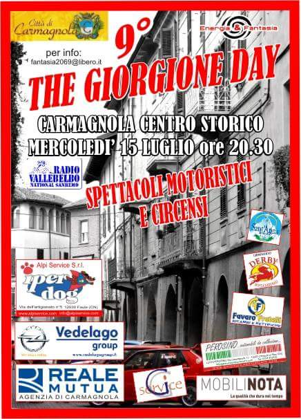Giorgione Day la Pancalera