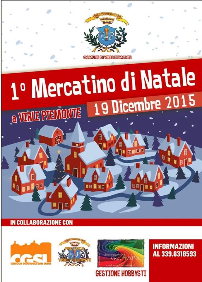 Prima edizione dei Mercatini di Natale a Virle