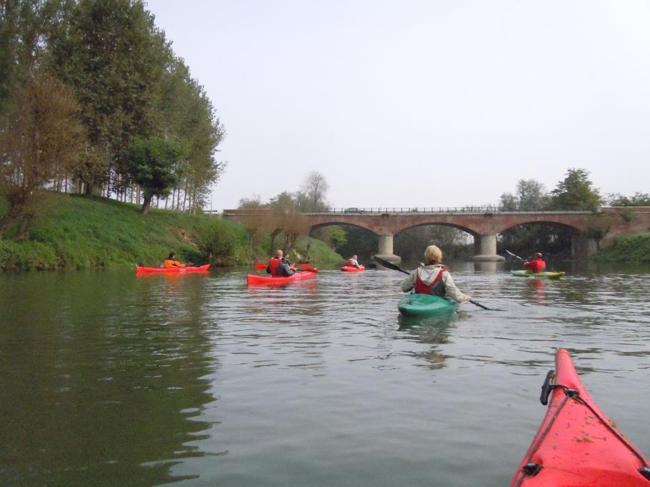 Kayak amici del po la pancalera