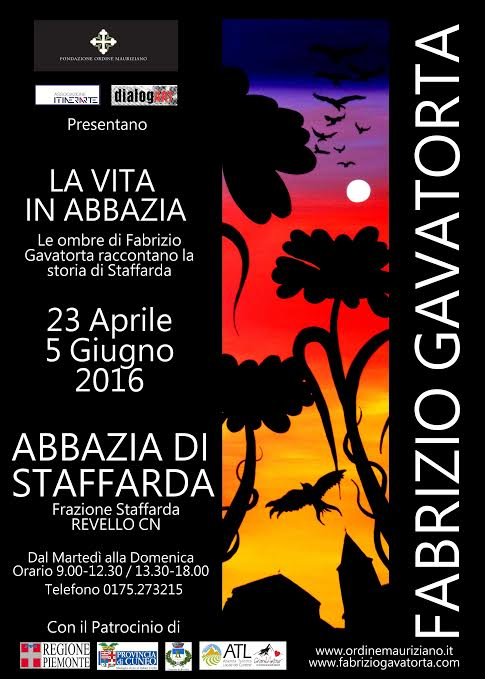 Le ombre di Fabrizio Gavatorta raccontano la storia di Staffarda