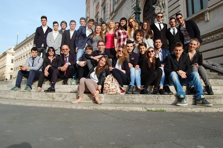 Il Giusto Premio, Giornata di formazione a Montecitorio degli allievi dell'Agraria