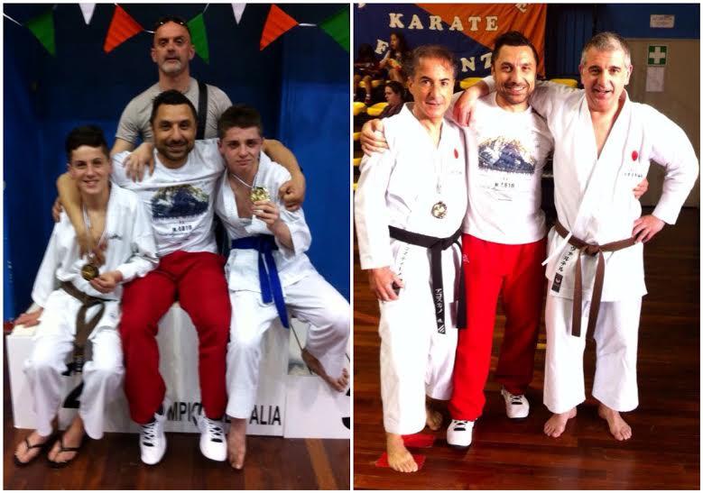 Campionato Italiano di Karate: Okinawa Caramagna sul podio