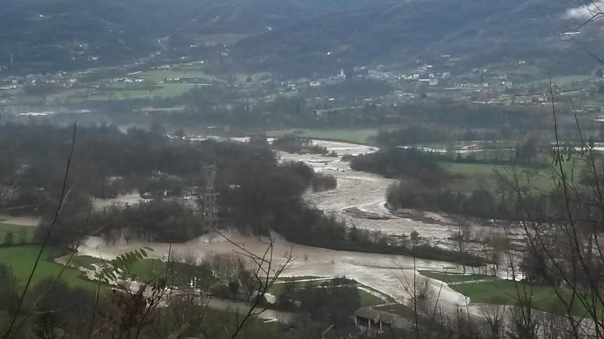 Si contano i danni dell'alluvione a Rifreddo