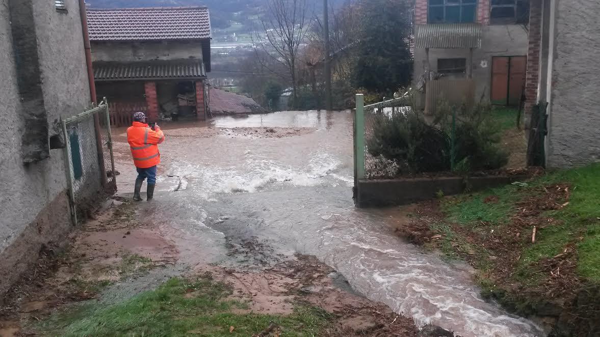 Rifreddo: il comune invita i cittadini a segnalare i danni dell'alluvione