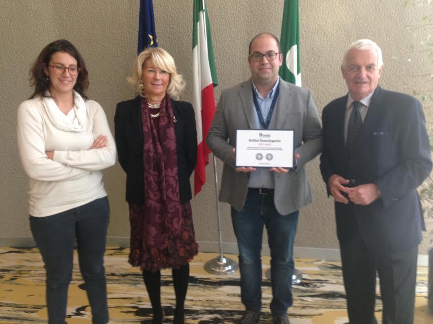 Bollini RosaArgento: premio alla RSA di Racconigi