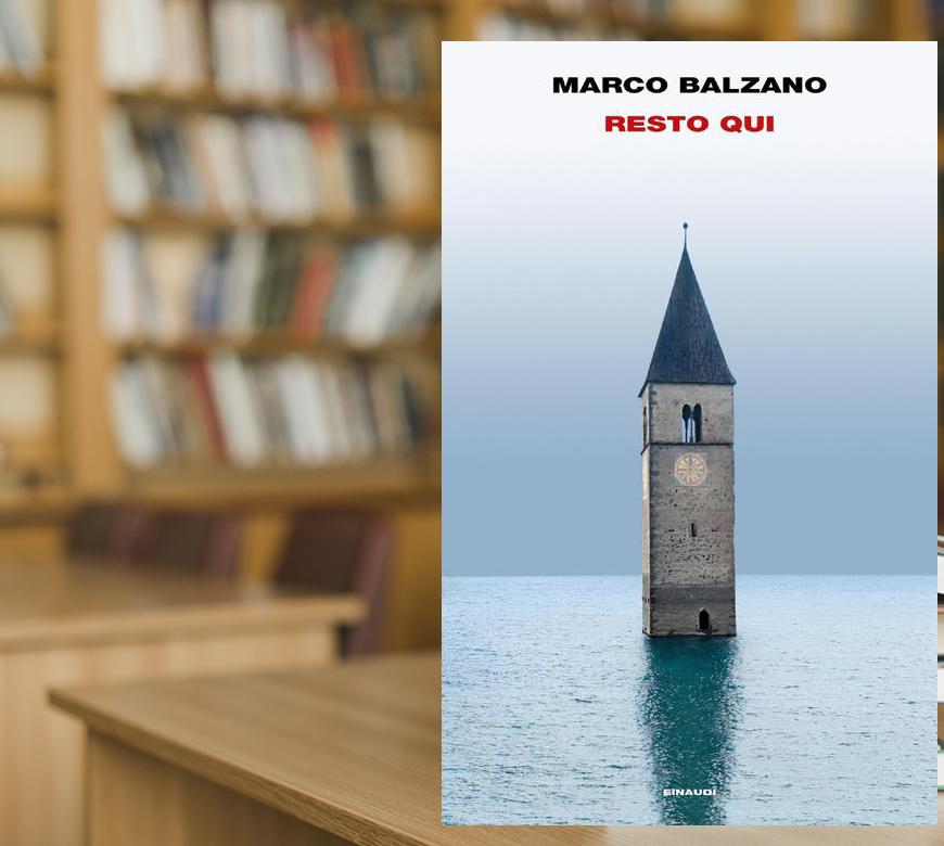 Marco Balzano, vincitore del Premio Bagutta, sarà al Baldessano Roccati