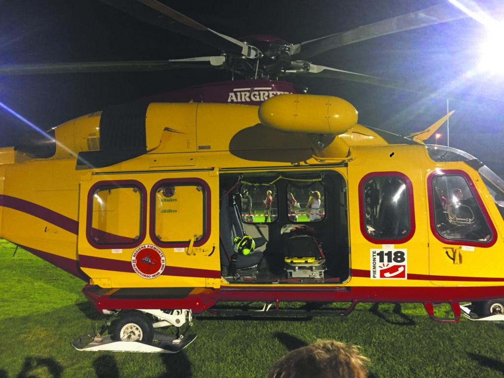 elicottero 118 la pancalera