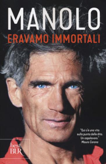 """Manolo a Carmagnola, parlerà del suo libro """"Eravamo immortali"""""""