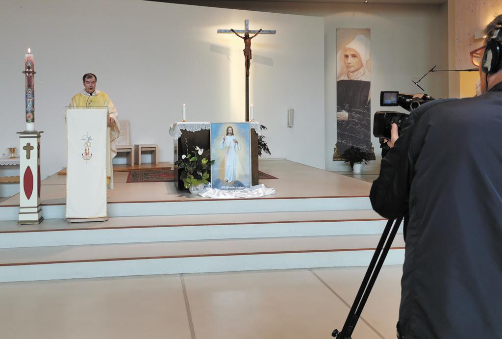 Messa in diretta da Salsasio trasmessa da Telecupole il 3 maggio