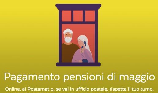 Poste Italiane, da oggi maggiori aperture per il pagamento delle pensioni