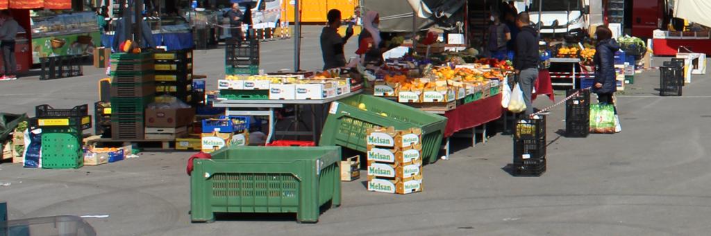 Il mercato del mercoledì riprende domani a Carmagnola