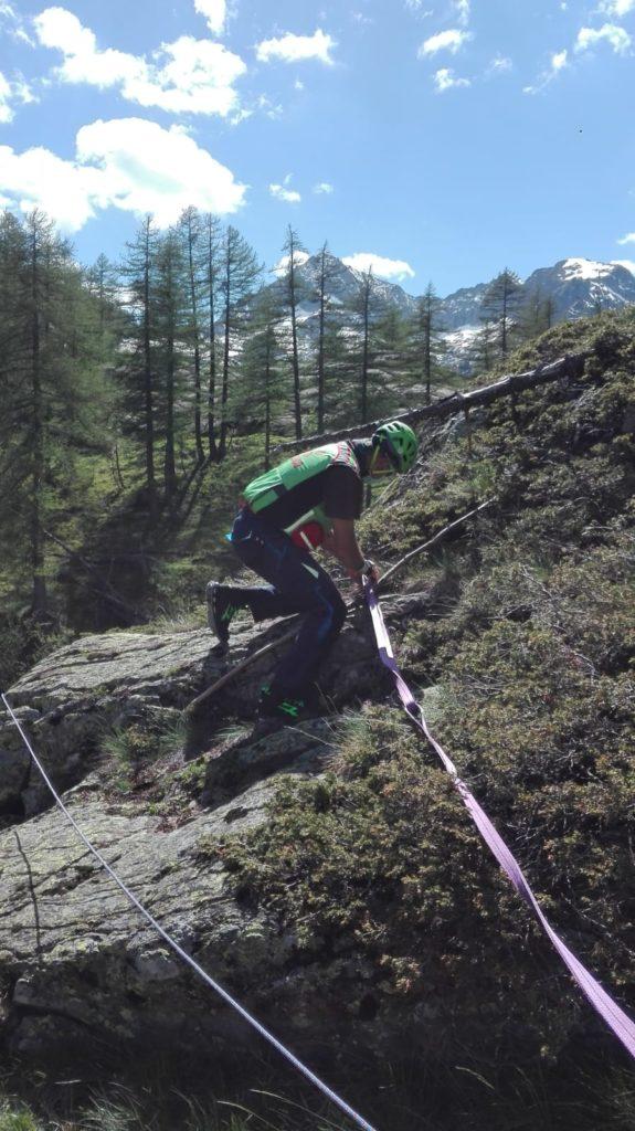 Soccorso alpino a Pian Valasco
