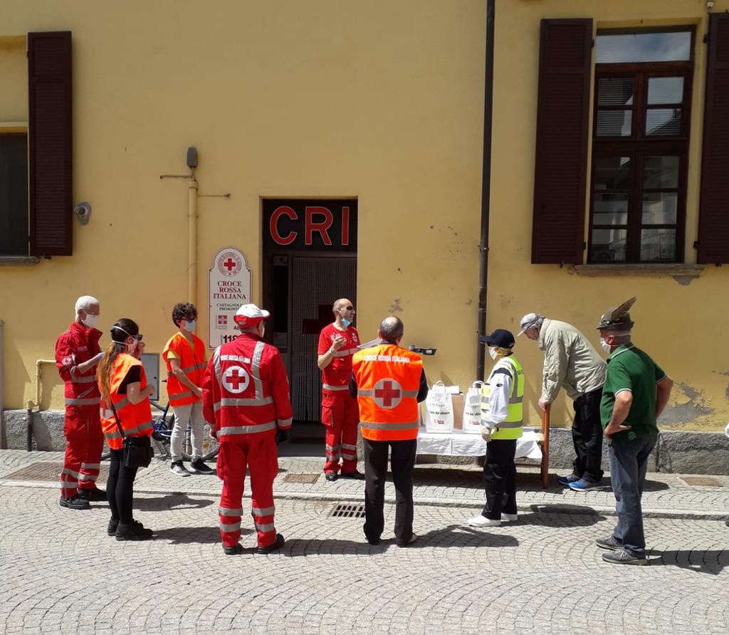 Servizi e lavoro di squadra, anche la Croce Rossa nella Fase 2