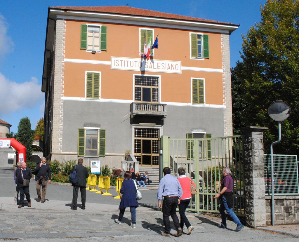 Appello anticovid per gli allievi della Scuola Salesiana di Lombriasco
