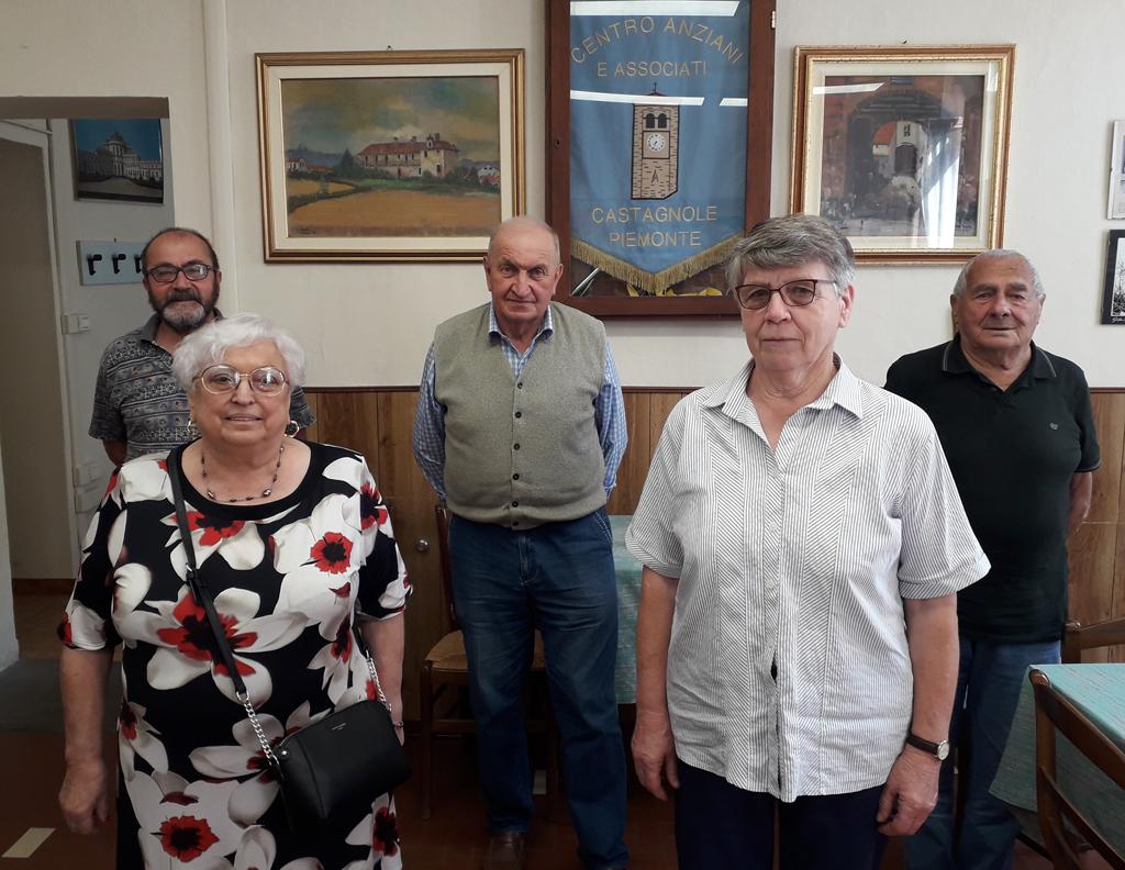 Bruna Massimino è presidente del Centro Anziani di Castagnole