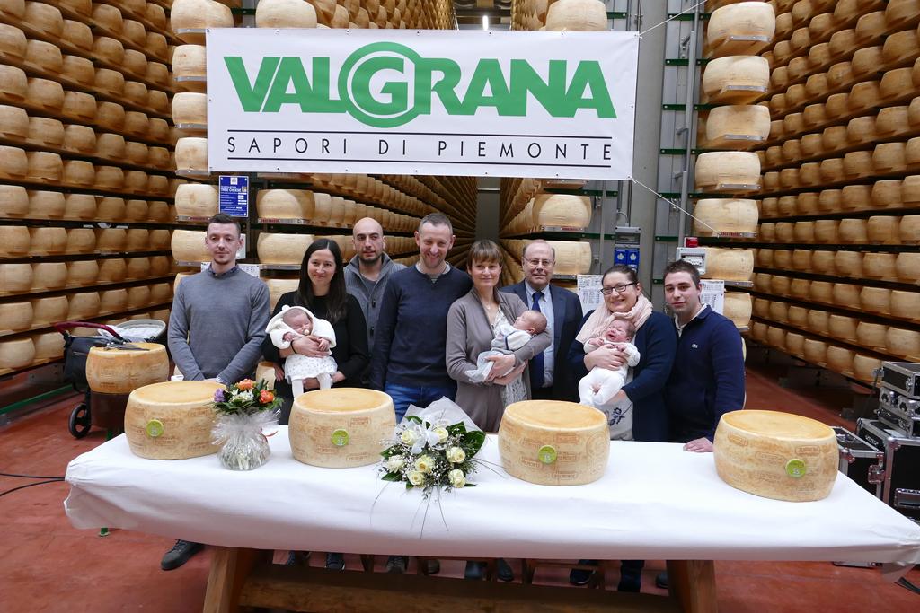 Un Piemontino ai primi nati del 2020 dalla Valgrana di Scarnafigi
