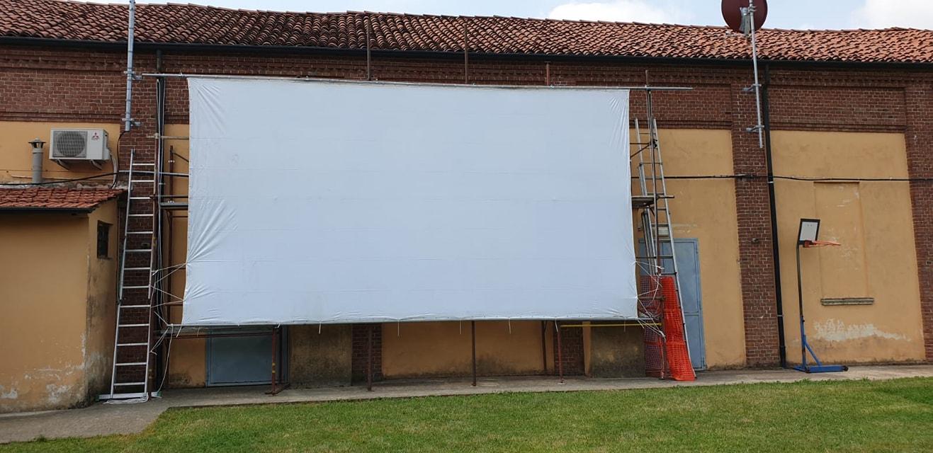 Il Cinema Jolly di Villastellone riparte con il cinema all'aperto