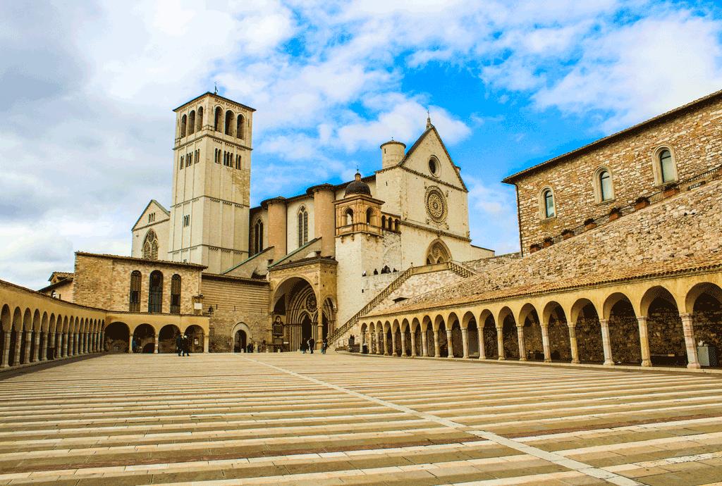 Pellegrinaggio ad Assisi con il gruppo Famiglia Mariana