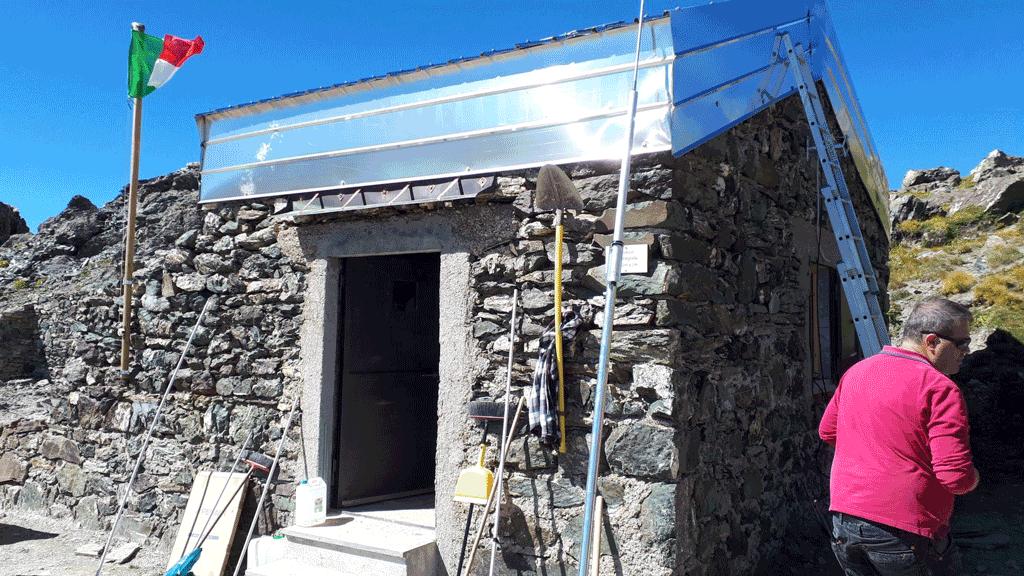 Il Cai inaugura il Bivacco Carmagnola, tra valle Maira e val Varaita