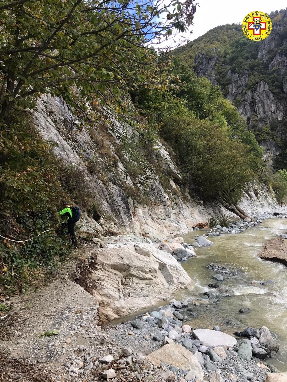 Limone e Frabosa, gli interventi del Soccorso Alpino per il maltempo