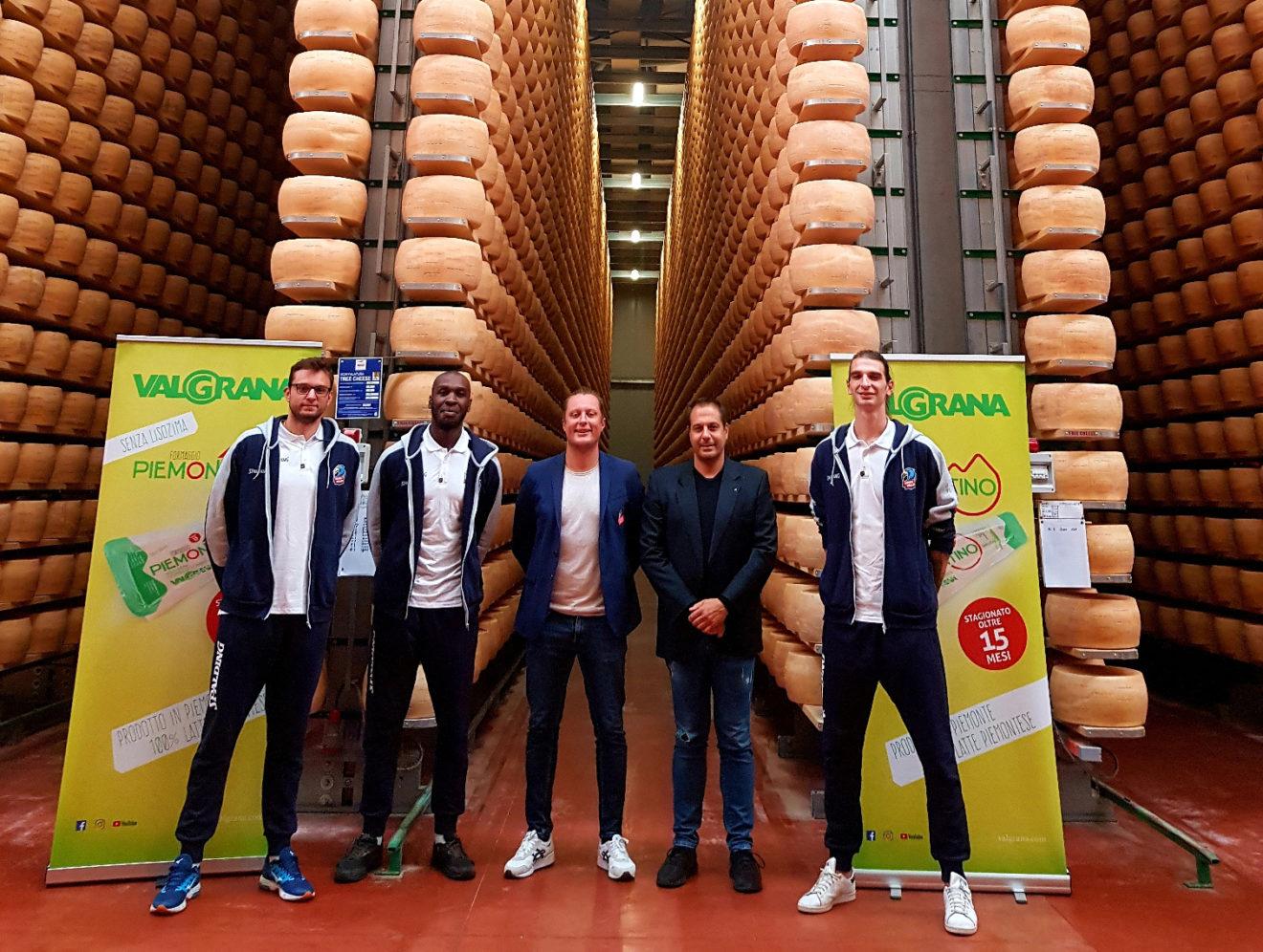 Valgrana spa sostiene il Cuneo Volley con una nuova partnership