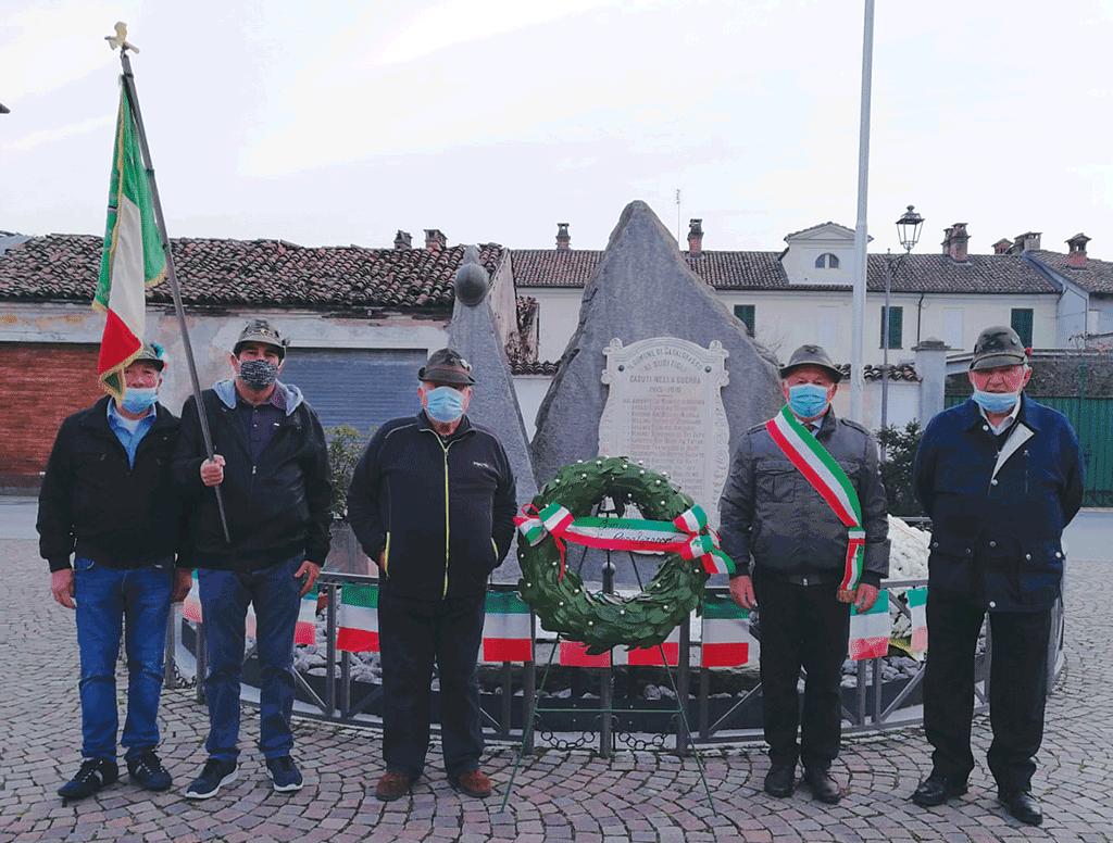A Casalgrasso la commemorazione dei caduti di tutte le guerre