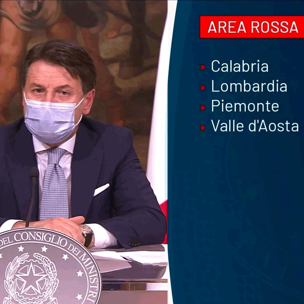 Il Piemonte torna in lockdown, la regione zona rossa con alto rischio
