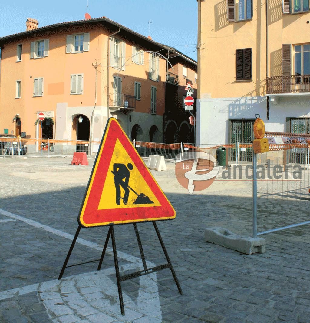 Dopo i lavori in centro, a Carmagnola riqualificazione di via Torino