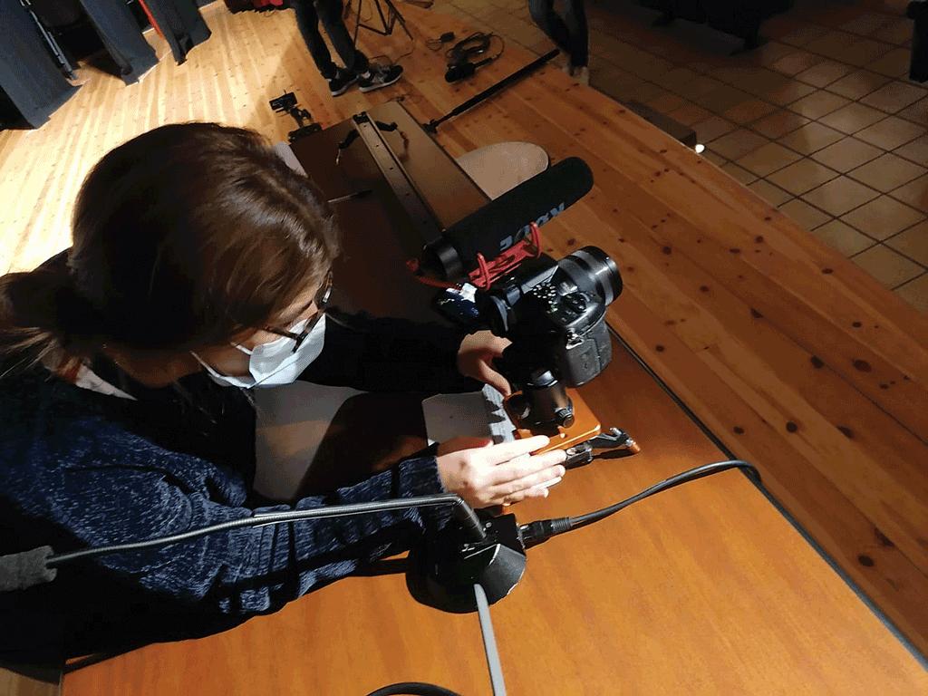 Orientamento virtuale al Baldessano Roccati: la scuola diventa set cinematografico