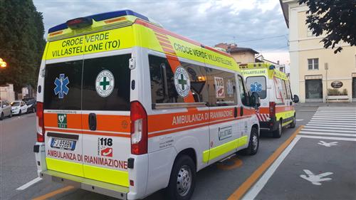 Annullata l'inaugurazione della ambulanze a Villastellone