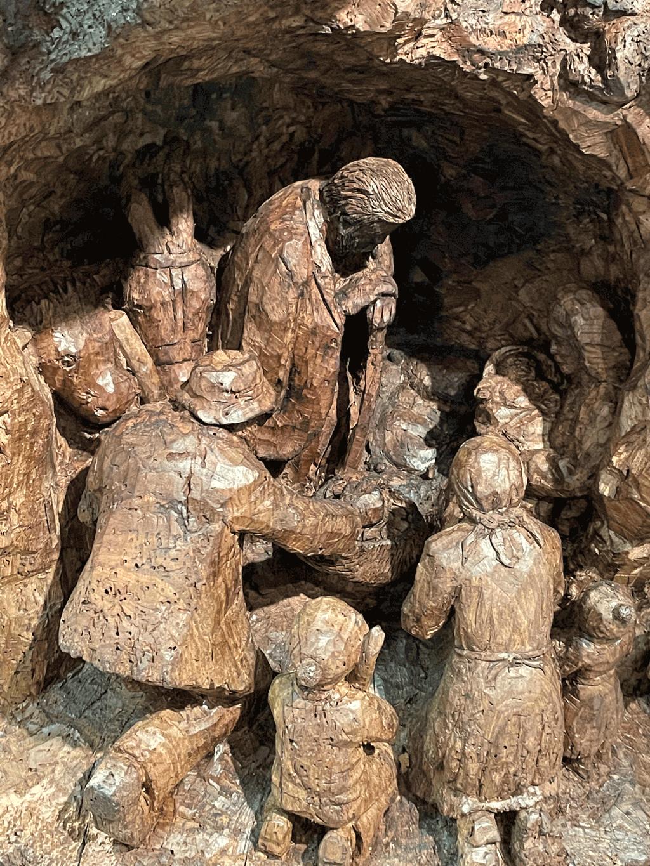 I Presepi di Moretta e Revello esposti al Forte di Bard in Val d'Aosta