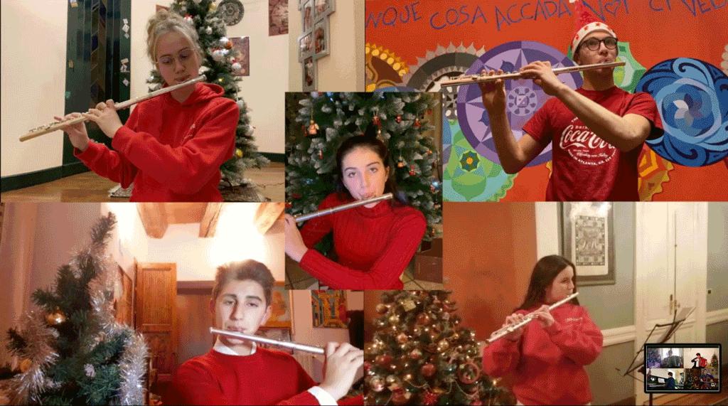 Con gli studenti del Bodoni di Saluzzo concertino di Natale online