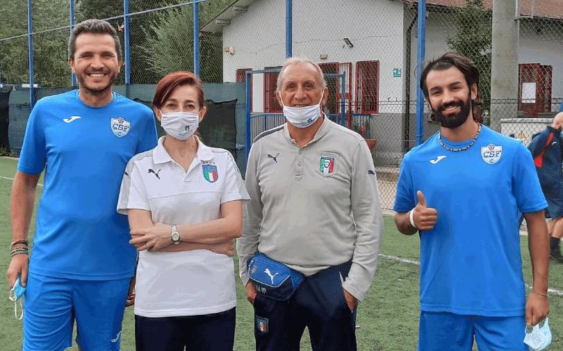 CSF Carmagnola, Bussano e Cuna allenatori con patentino Uefa C