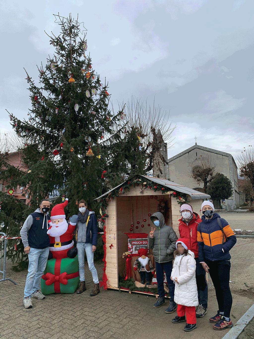 Da Rifreddo le letterine partono indirizzate a Babbo Natale