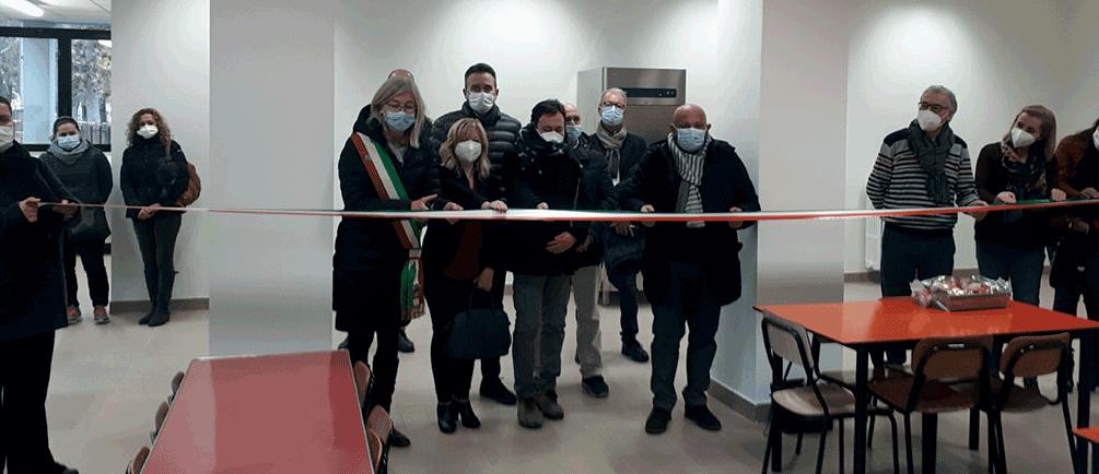 Inaugurato nuovo locale mensa alla scuola di Carmagnola