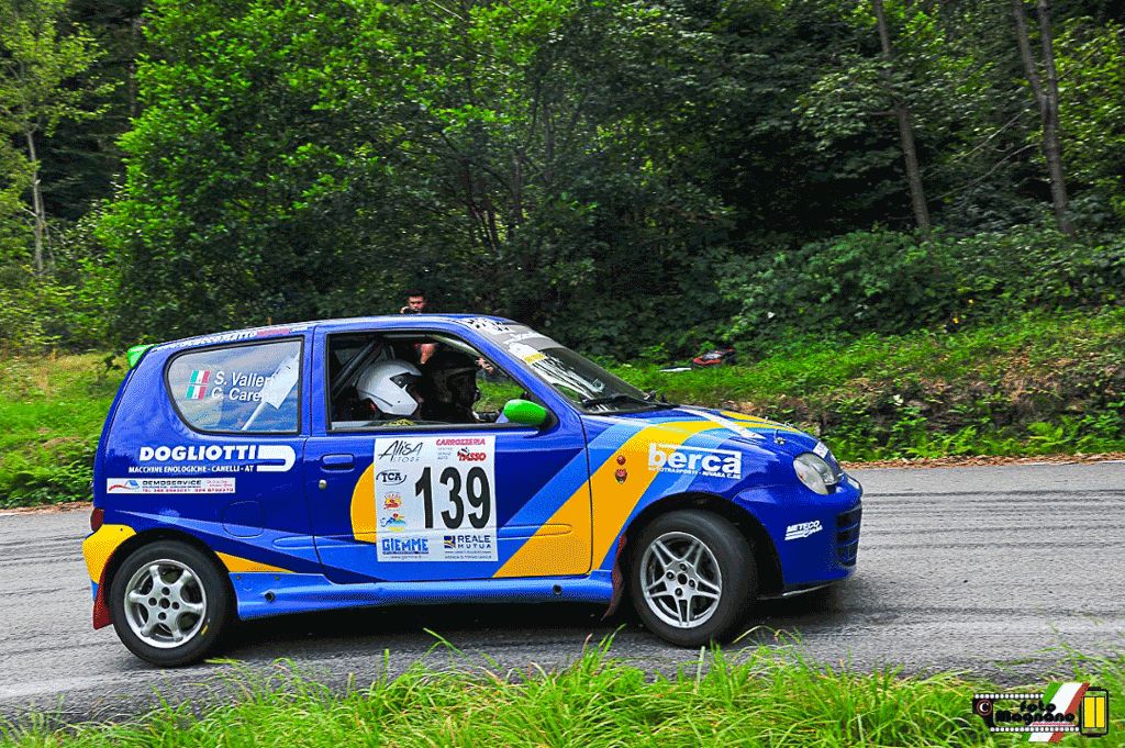 Cristina Carena ci prova al Rally Valli Ossolane