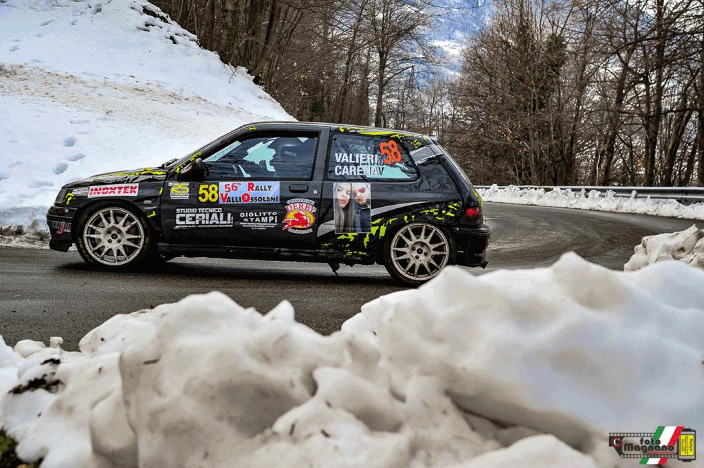 Cristina Carena quinta di classe A7 al Rally delle Valli Ossolane
