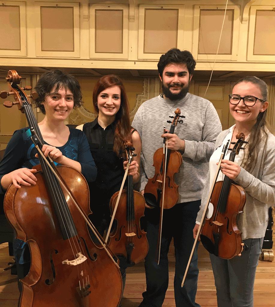 """Concerto a Santo Stefano con il Tetrada Quartet per """"Adotta un artista"""""""