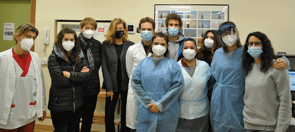 110 medici vaccinati ieri tra Carmagnola, Chieri e Moncalieri