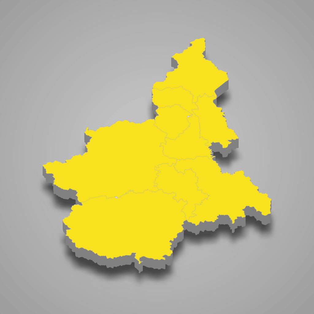 Piemonte in giallo, ma il Cuneese rimane arancione fino a giovedì