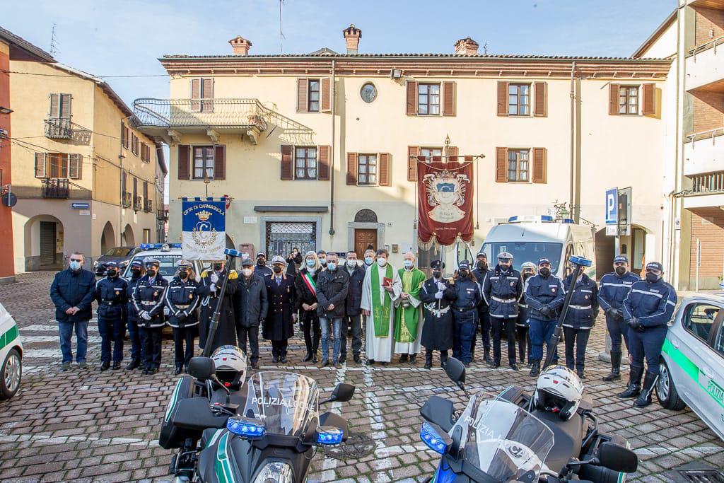 Festeggiato il corpo di Polizia Locale a Carmagnola