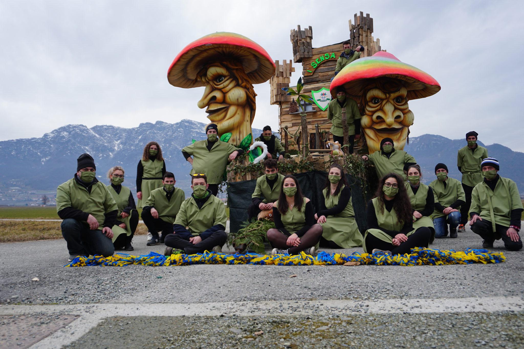 Carnevale Saluzzo, premi a Envie, Luserna, Roletto, Roccabruna, San Martino, Tarantasca