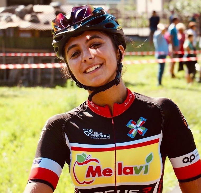 Benedetta Brafa è la nuova atleta del Racconigi Cycling Team
