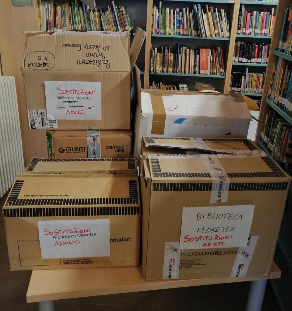 10mila euro di nuovi libri alla Biblioteca Millone di Moretta